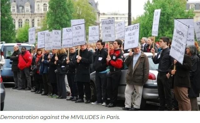 Des fonds supplémentaires pour la MIVILUDES :  la « police des esprits » est de retour en France