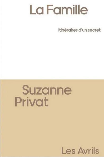 Couverture du livre de Suzanne Privat.