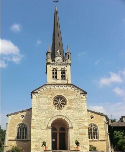 L'église paroissiale de Fareins (crédits).