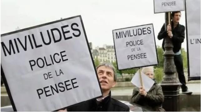 Manifestations contre la MIVILUDES en France